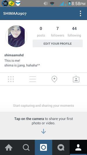 Instagram Newbie ♥ Followmefollowback do follow? thanks(: