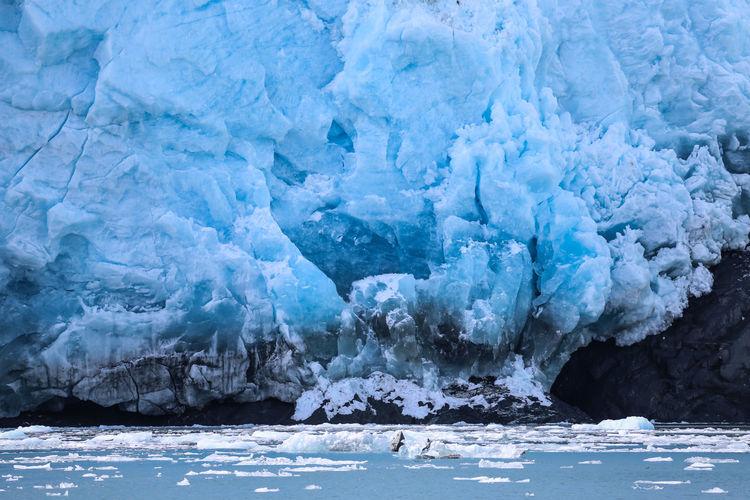 Iceberg in sea