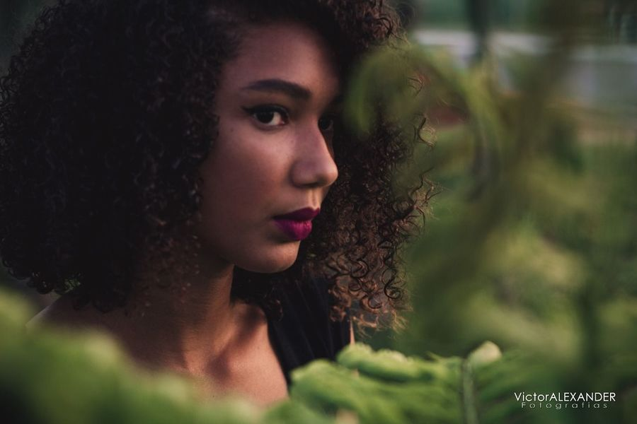 One Person Only Women Serious One Woman Only Contemplation Adults Only Adult Curly Hair Beauty Beautiful Woman Young Adult Beautiful People People One Young Woman Only Headshot Women Portrait Young Women Outdoors Handsome