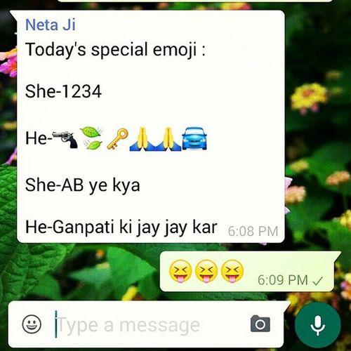 New Emojijoke Ganpati Heshe