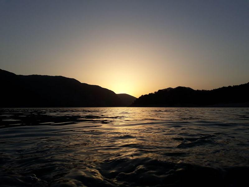 Acqua Montagne Natura Tramonto Borgo San Pietro Lago Lago Del Salto Riflessi Riflessi Sull'acqua
