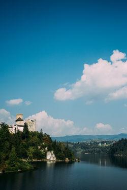 Architecture Blue Castle Lake Landscape Niedzica Outdoors Poland Sky Summer Travel Water