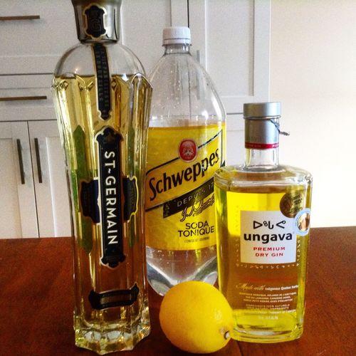 Tonic St-germain Drink Ginungava St-germain Tonic Citrus