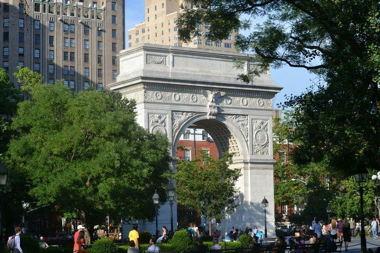 People At Washington Square Park