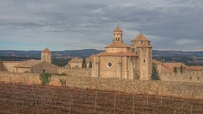 Culture Photography Catalonia Detall Claustre Del Monestir De Poblet Poblet