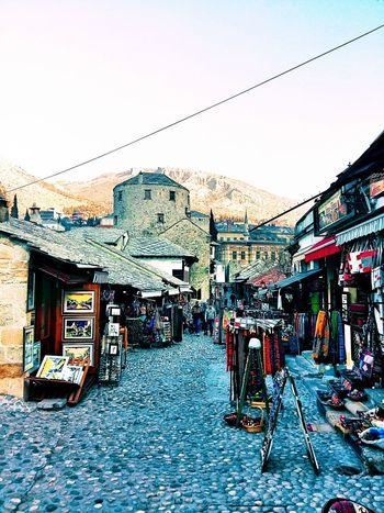 Old Town Mostar ♥ Bosnia And Herzegovina 16 Century Tower Old Bridge UNESCO World Heritage Site