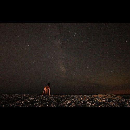 Me Notte Stelle  Vialattea Canon 1018 Italia Spiaggia Calabria Italia Astronomica Astro Bestofpics Pics Relax Sicilia