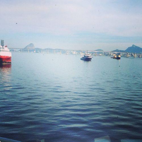 Love It Ponte: RIO-NITEROI... Baia Da Guanabara Riodejaneiro