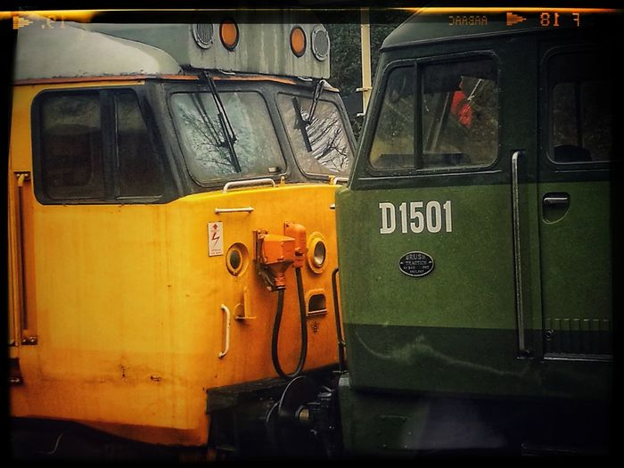 Locomotives Class 47 Class 50 Transportation No People Outdoors Day
