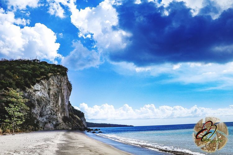 West Indies Sky Cloud - Sky Sea Water Beach Land Beauty In Nature Day Scenics - Nature Nature Tranquility Tranquil Scene Sunlight Tree Outdoors No People Blue