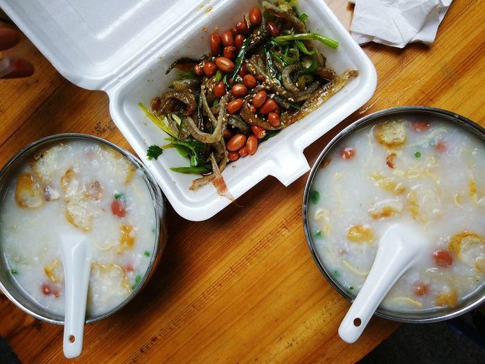 <the porridge &