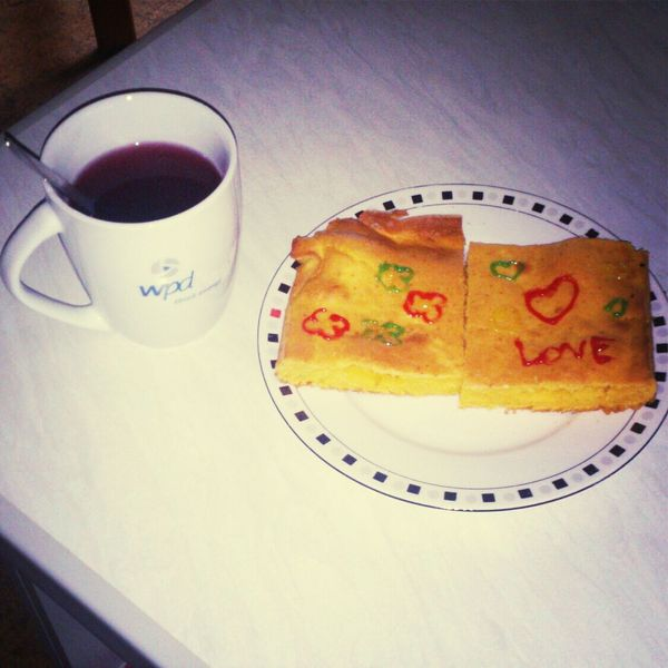 Tee und Kuchen <3