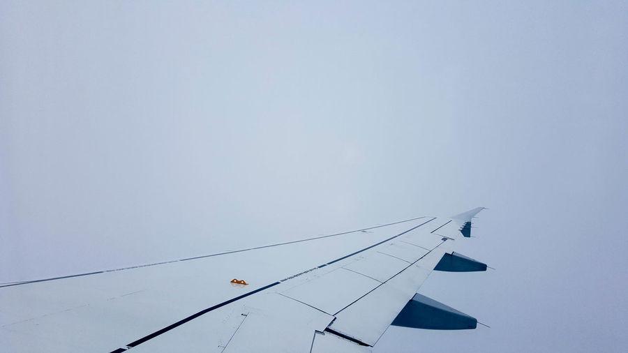Airplane Cloudy