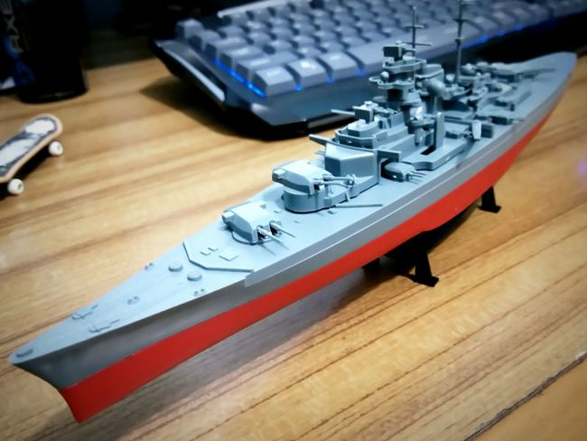 Plastic Model Battleship Bismarck