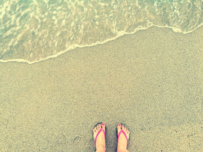 Sand Beach Seaside Edge