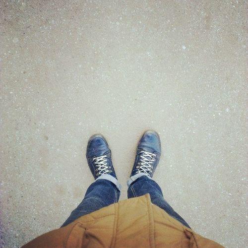 гулял ноги куртка асфальт
