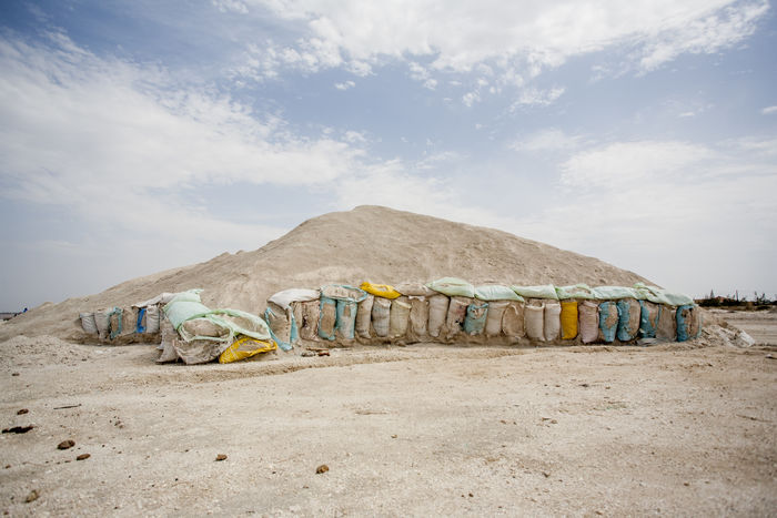 Saline Afrika Bags Bags Of Salt Clouds And Sky Dakar Day Hill Landscape Mountain Of Salt Saline Salt Skx Tranquil Scene Tranquility Travel