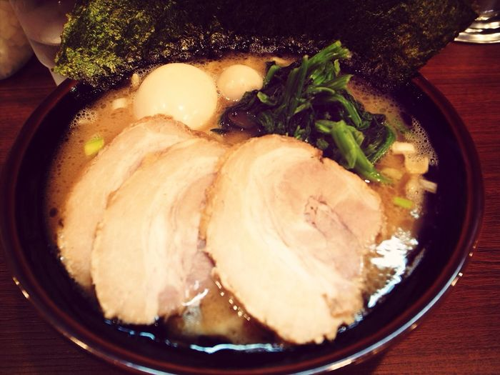 Noodles ラーメン 家系 横浜家系 池袋商店で食す