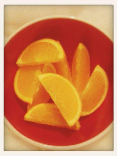 Eating an orange that tastes of summer! Food First Eyeem Photo