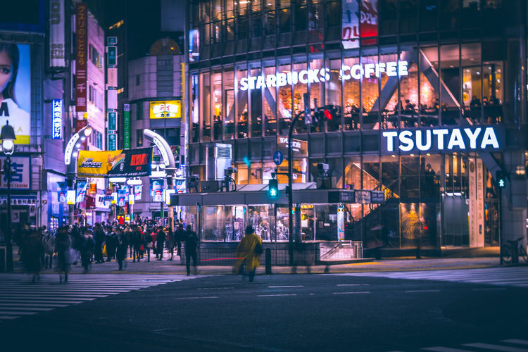 Shibuya Shibuya Crossing Shibuyascapes Cinematic Cinematic Photography Urban Tokyo Japan Color Redefining Night Lights Neon Cityscape Technology Yellow Japan Travel Urban Exploration Street Sky Atmospheric Mood Building Exterior Architecture Illuminated Night City Built Structure Text Communication City Life Sign Transportation Group Of People Advertisement Road Commercial Sign Real People Incidental People City Street Nightlife Outdoors Humanity Meets Technology My Best Photo International Women's Day 2019