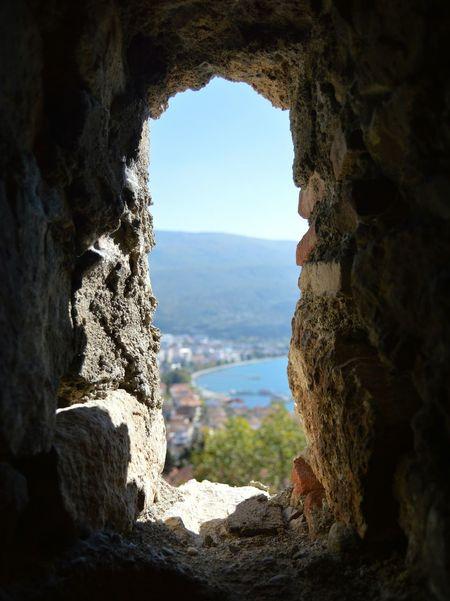 Macedonia Ohridlake Ohrid Window