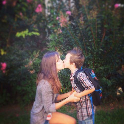 Morning Rituals School Motherandson  Love