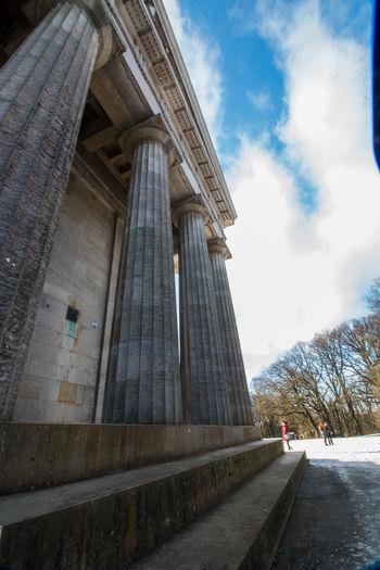 Welcome to Walhalla Architechture Bavaria Winter Great Germans Indoors  Snow Walhalla Walhalla Memorial