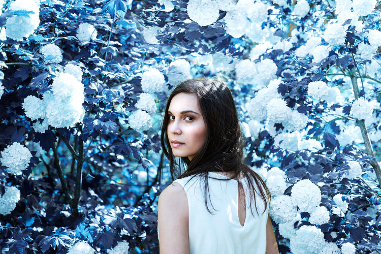 girl near white flowers and blue leaves Adult Adults Only Beautiful People Beautiful Woman Beauty Cold Temperature Day Fairytales & Dreams Flower Fragility Looking At Camera Nature One Person One Woman Only One Young Woman Only Only Women Outdoors People Portrait Portrait Of A Woman Snow Winter Young Adult BYOPaper! Place Of Heart The Portraitist - 2017 EyeEm Awards Neon Life Shades Of Winter The Portraitist - 2018 EyeEm Awards The Portraitist - 2018 EyeEm Awards The Creative - 2018 EyeEm Awards