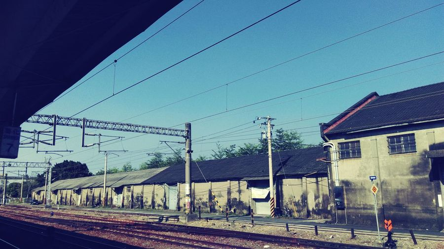 Train Station Lonely Sky Photography Enjoying Life Tired Thinking Heart ❤ Things That Stop You Dreaming ASIA