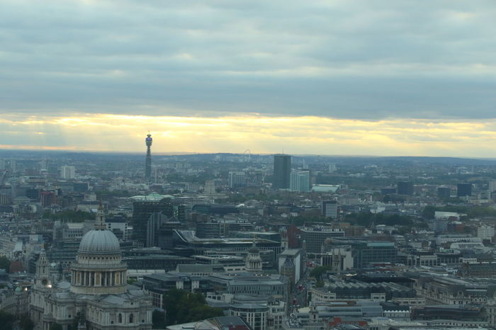 Post Office Tower BT Tower BT Tower London LONDON❤ London London Skyline St Paul's Cathedral St Pauls Cathedral Sunset