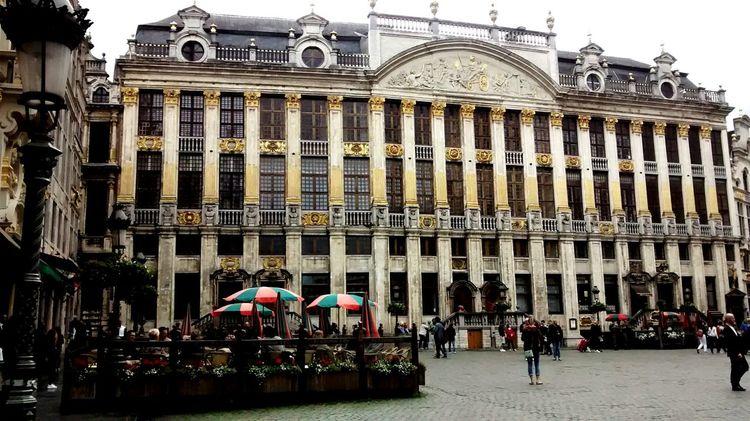 Grand Place Bruxelles Belgium Eunaovimateaquipradesistiragora