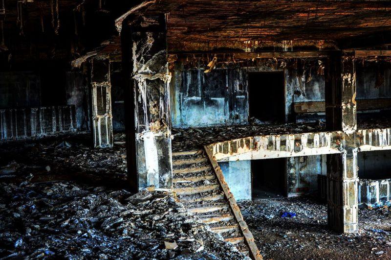 Abandoned Ruined Damaged Bad Condition Destruction Urbex