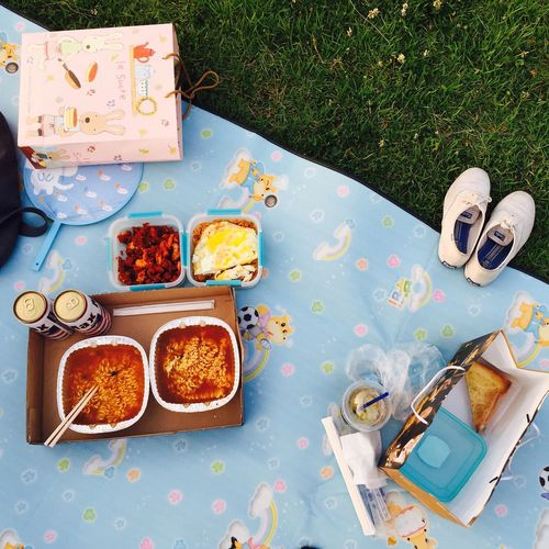 Picnic Picnic Time ♡ Packed Lunch Eating Relaxing
