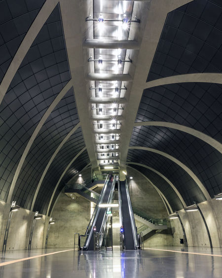 I love interesting subway architecture. This escalator belongs to the subwaystation Heumakrt and was captured on my short trip to Cologne a few weeks ago. Architecture Building Building Exterior Built Structure City Cityscape Cologne Day Deutschland Escalator Germany Heumarkt  Illuminated Indoors  Modern No People Subway Travel Underground