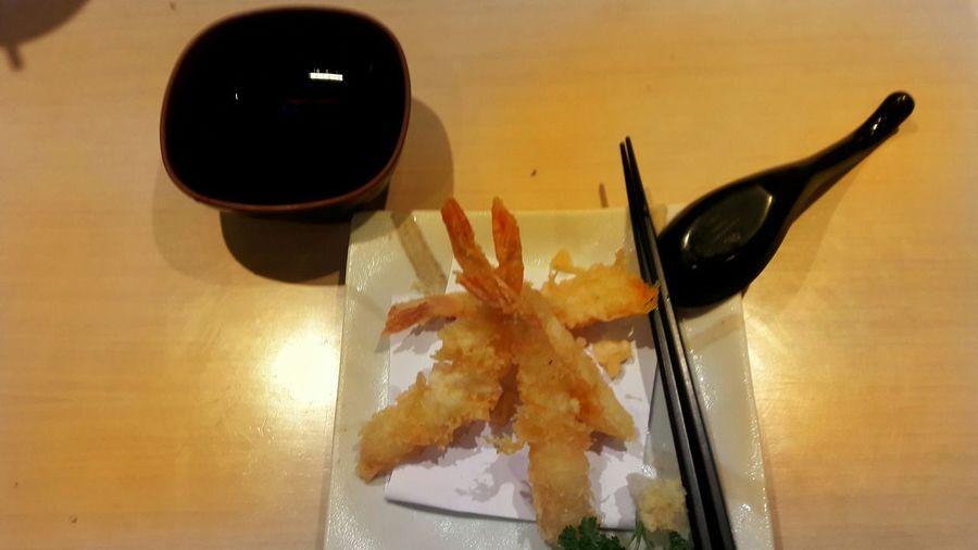 Eating tempura at a Japanese restaurant Taking Photos Relaxing Enjoying Life First Eyeem Photo