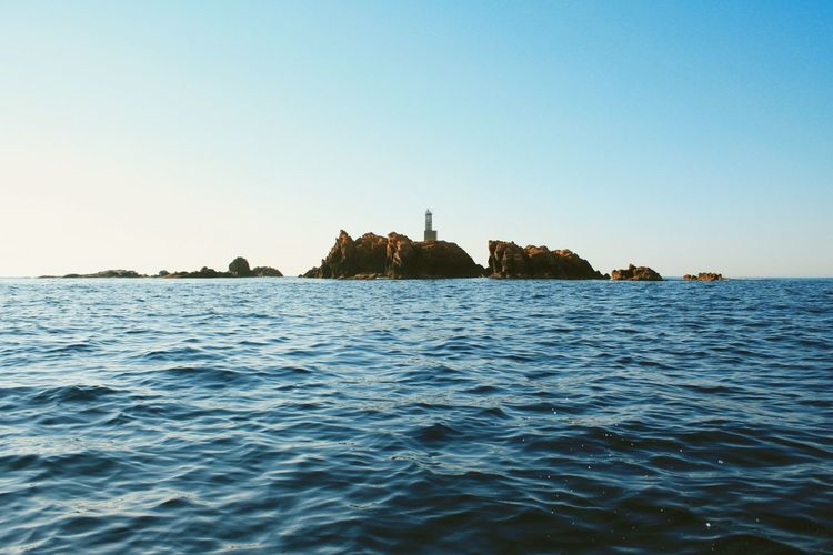 Illes Formiga Island Water Waterfront Sea Clear Sky Tranquil Scene Blue Scenics Tranquility Rippled Copy Space Beauty In Nature Nature Calm Distant Outdoors Day Seascape Ocean Non-urban Scene Sea And Sky On The Boat