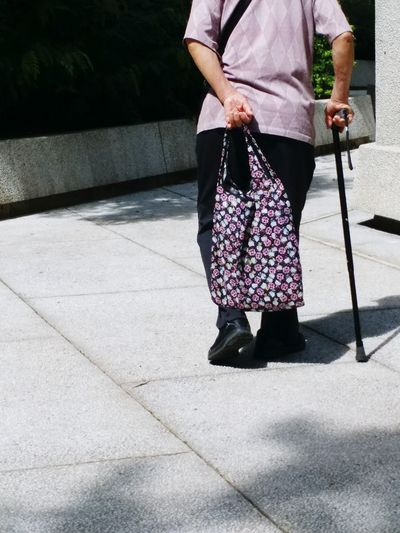 Shadow Footwear Human Leg Walking Cane Walking