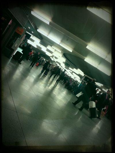 Esperando en Atocha...