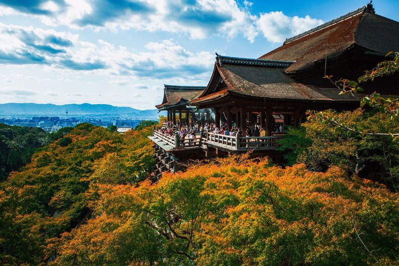 Kiyomizu-dera WaterTemple Cloud - Sky Travel Destinations