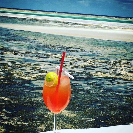 The Rock Sansibar Aperol Spritz Zanzibar Africa Indischer Ozean Tansania 🇹🇿 Wonderful Day