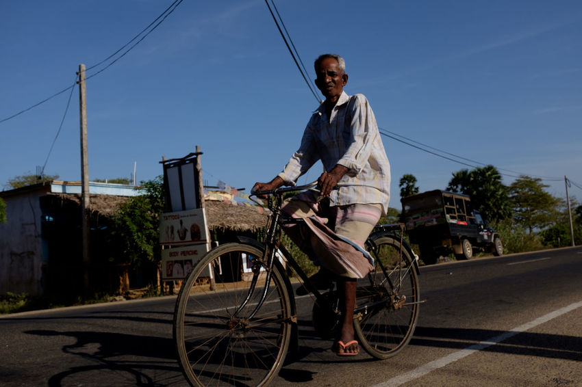 Travel in Sri Lanka Adventure ASIA Asian  Bicycle Destination Discover  Discovery Exotic Holiday Island Leisure Activity One Person Outdoors Real People South Asia Sri Lanka Sri Lankan Transportation Travel Travel Destinations Travel Photography Traveling Uncover Visit Voyage