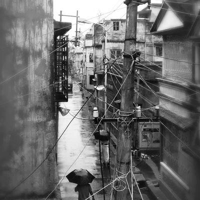 Monsoon Northkolkata Rain Wetstreets Randomness Photooftheday Passion