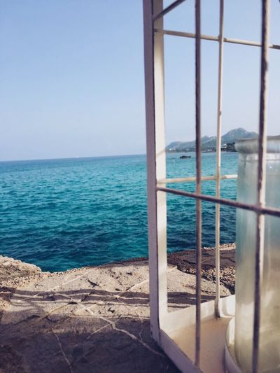 Sea Horizon Over Water Water Nature Beauty In Nature Scenics Day No People Tranquil Scene Clear Sky Ocean View Sea And Sky Blue Wave Mallorca Cala Ratjada Tranquility Blue Outdoors Close-up