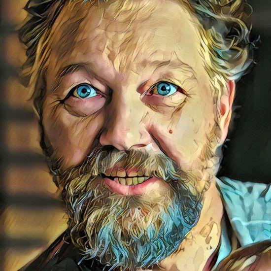 Gaze Gaze Glance BlueEyes Prisma Portrait Beard Cut And Paste Break The Mold The Portraitist - 2017 EyeEm Awards The Portraitist - 2017 EyeEm Awards The Portraitist - 2018 EyeEm Awards