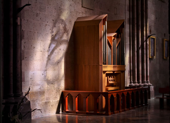 Church Interior Interior Views No People Old Organo Pipe Organ Religion Spirituality Wood - Material
