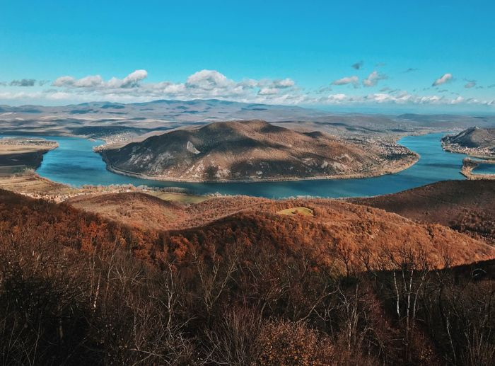 Autumn Collection Autumn Colors Danube Fall Colors Hungary River View Beauty In Nature Fall Landscape Mountain Nature Nature_collection Naturelovers No People Outdoors Scenics Tranquil Scene Tranquility Perspectives On Nature