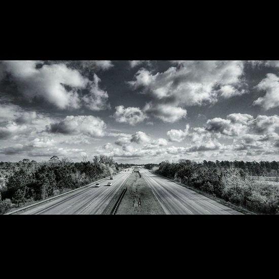 Hwy Travel Road Vacation Clouds PhonePhotography Myrtlebeach Charleston Southcarolina Roadtrip
