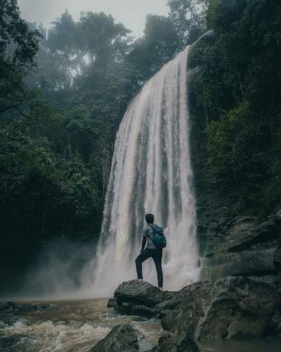 Bulu langi waterfall