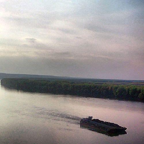 Ig_srbija Instagramsrbija Danube Dunav river sky nature vojvodina ship serbia