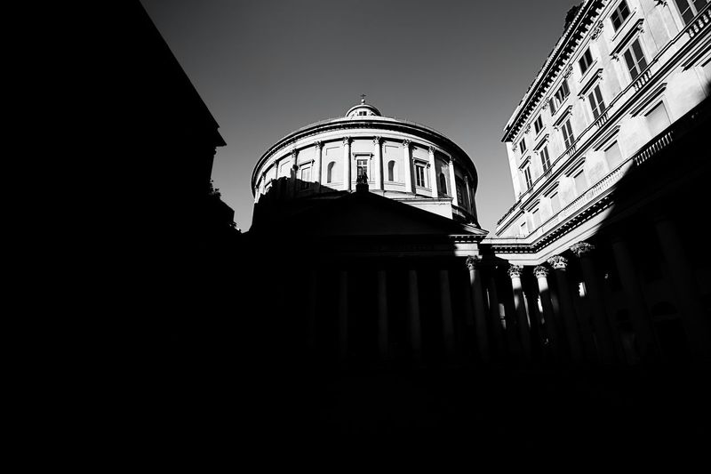 San Carlo al corso Milano Milano Church Italy Blackandwhite Light And Shadow Milan Historical Sights Cittadimilano Discover Your City Walking Around